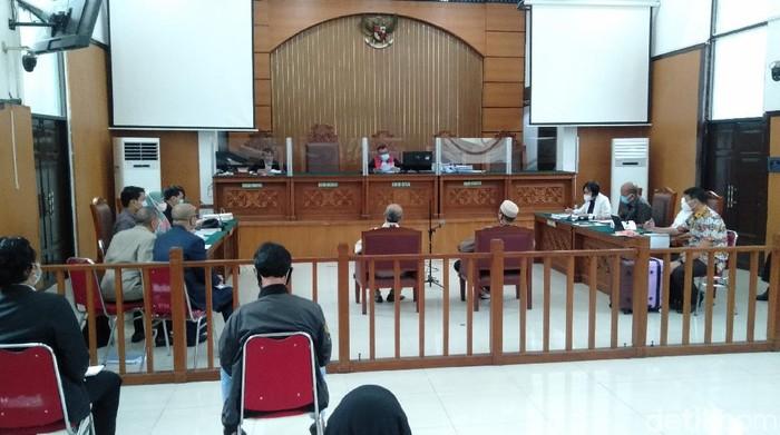 Sidang praperadilan Habib Rizieq (Ibnu Hariyanto/detikcom).