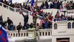 Rusuh! Massa Trump Kepung Gedung Capitol saat Kongres AS
