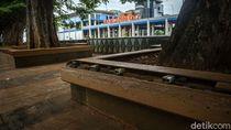 Taman-Trotoar Seberang KBB BNI City Rusak, Pemprov Minta Pengembang Perbaiki