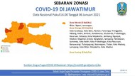 3 Daerah di Jatim Zona Merah COVID-19, Ini Detil Kasus Baru dan Kematiannya