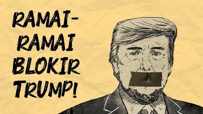 Blokir Trump