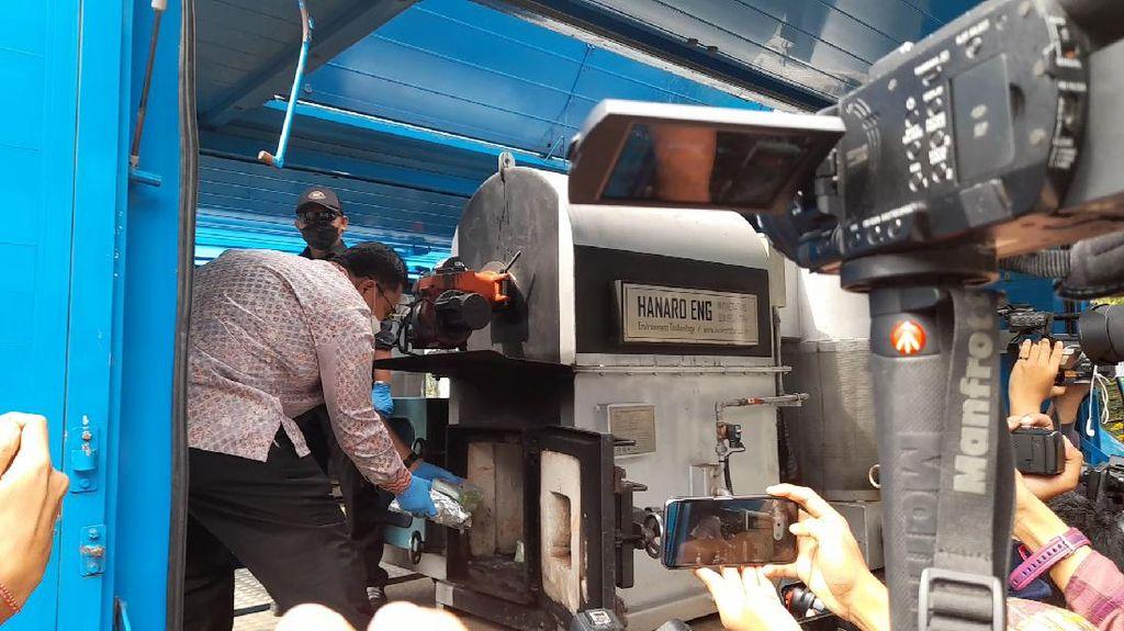 BNN Musnahkan 73,76 Kg Sabu Sitaan dari 3 Kasus di Sumatera