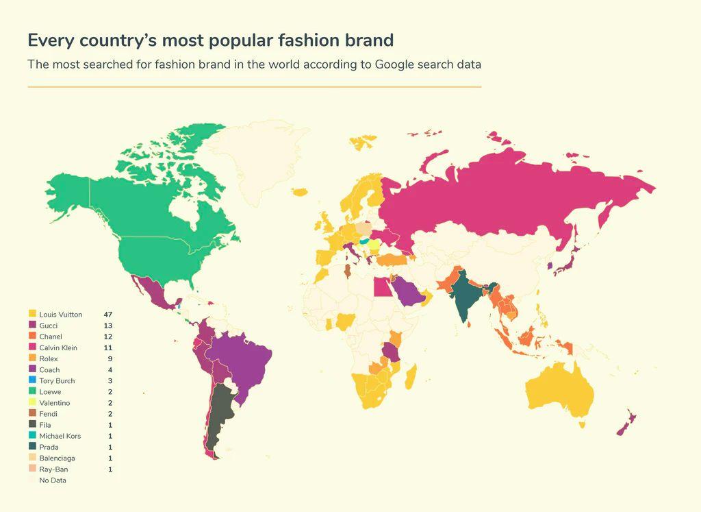 Brand Mewah Paling Favorit di Dunia