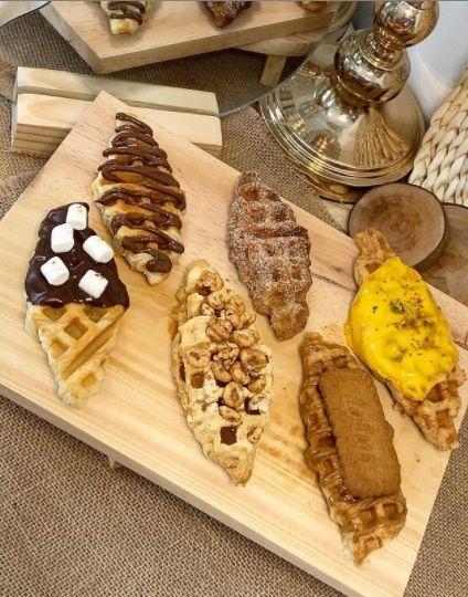 Croffle enak: kopi soe, monks jakarta, glory of fats