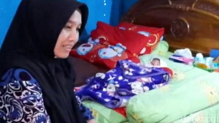 Ibu di Ciamis Melahirkan Tanpa Tanda-tanda Hamil