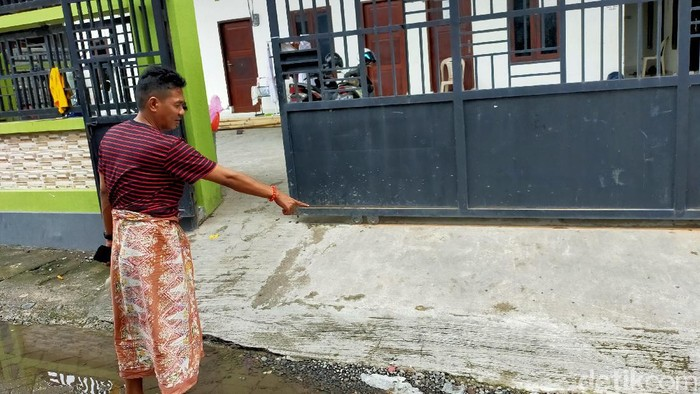 Lokasi Kejadian Begal Sadis di Makassar