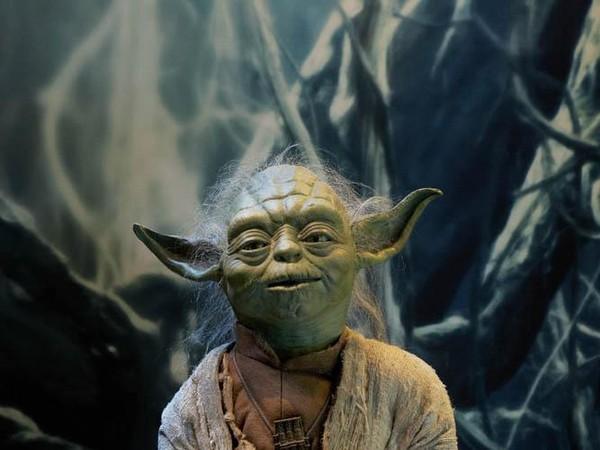 Ada Master Yoda juga di sini.