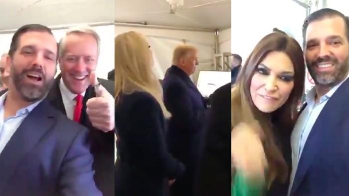Pesta Donald Trump Sebelum Rusuh Gedung Capitol