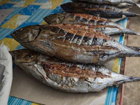 Resep Ikan Tongkol Suwir Pedas