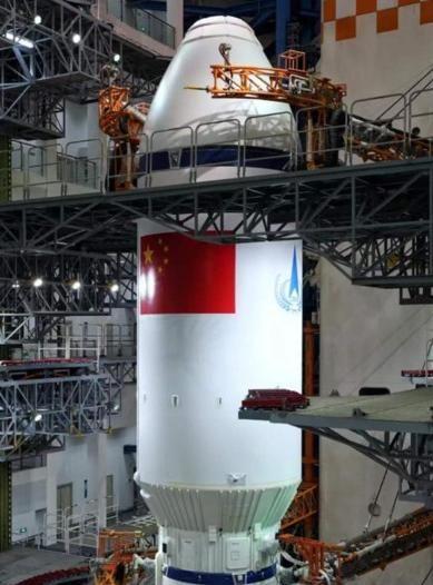 Roket Long March/Chang Zheng-8 (CZ-8) (Foto: Weibo via SCMP)
