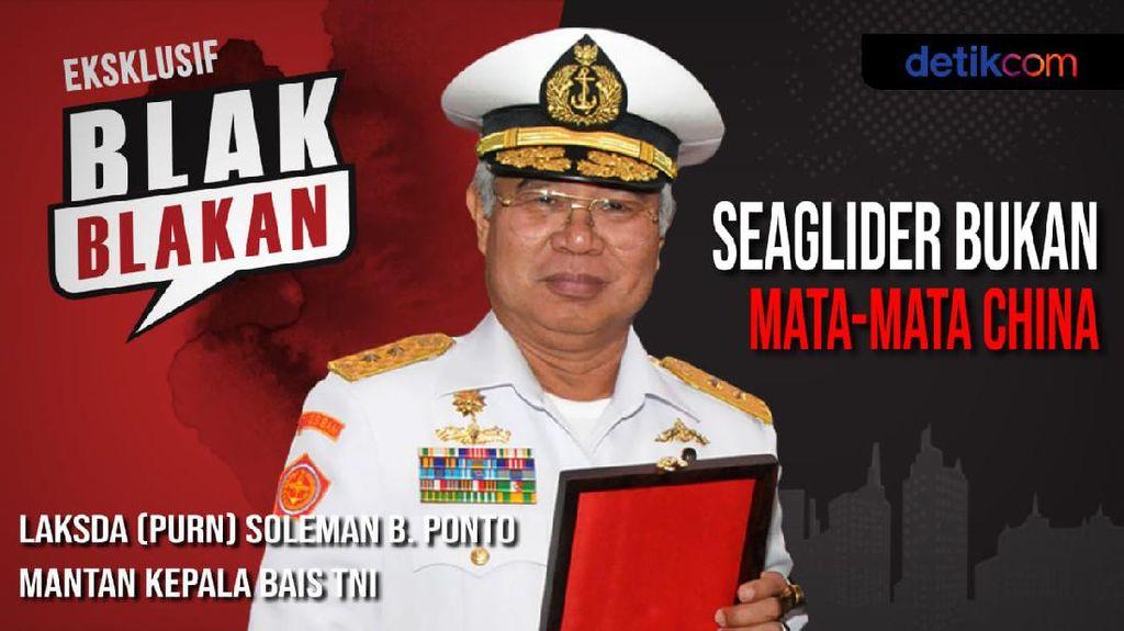 Blak-blakan Mantan KaBAIS Tentang Seaglider dan Mata-mata China
