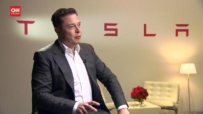 CEO Tesla dan SpaceX,Elon Musk, kini menggeser posisi pemilik Amazon,Jeff Bezos, sebagai orang terkaya di dunia