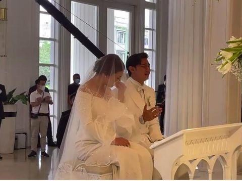 Caesar Hito dan Felisya nikah