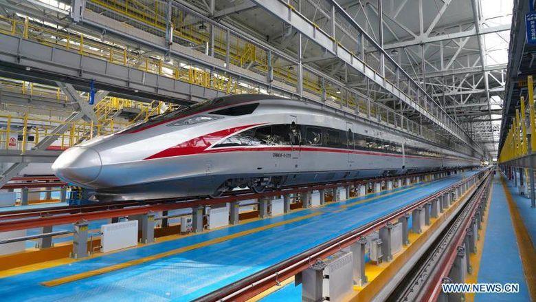 China Bikin Kereta Cepat Tahan Beku