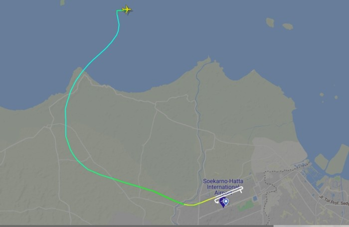 Sriwijaya Air Jakarta-Pontianak yang Hilang Kontak Pesawat ...
