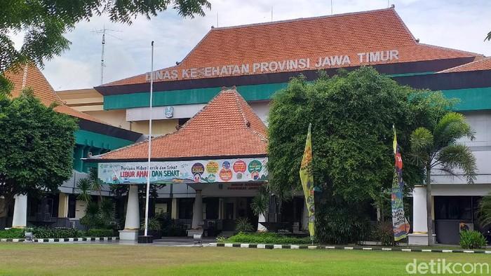 kantor Dinkes Jatim di Jalan Ahmad Yani