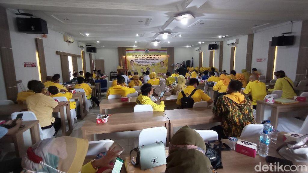Diwarnai Ricuh, Musda Golkar Pangandaran Pilih M Taufik Martin Jadi Ketua DPD