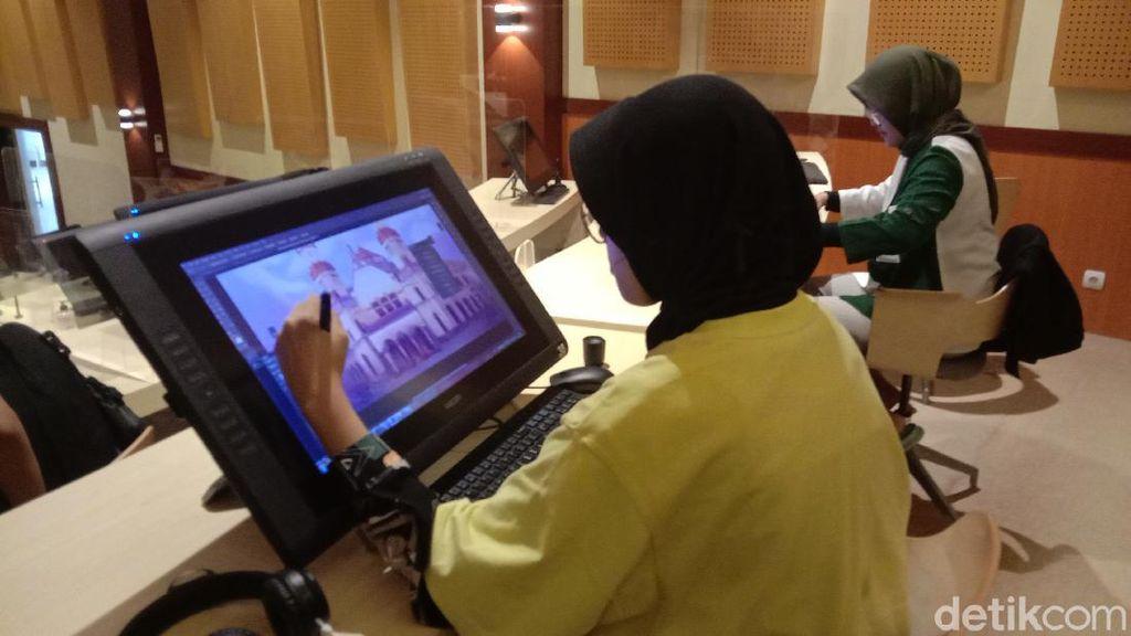Top! Anak-anak SMK di Kudus Bikin Film Animasi Berkelas Internasional