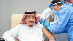 Raja Salman Disuntik Vaksin Corona Pfizer-BioNTech