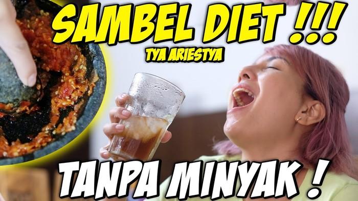 Resep Sambal Tanpa Minyak Tya Ariestya yang Cocok Buat Diet