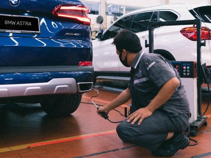 BMW Astra punya layanan uji emisi