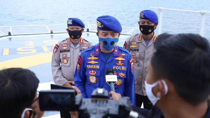 Dirpolair Korpolairud Baharkam Polri Brigjen Mohammad Yassin Kosasih