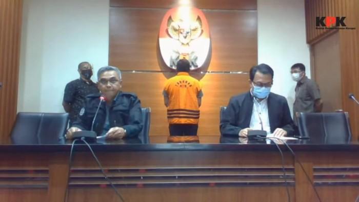 Konpers KPK terkait penahanan Ferdy Yuman