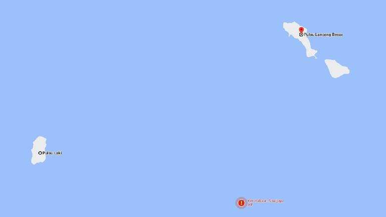 Pulau Lancang dan Pulau Laki di Kepulauan Seribu