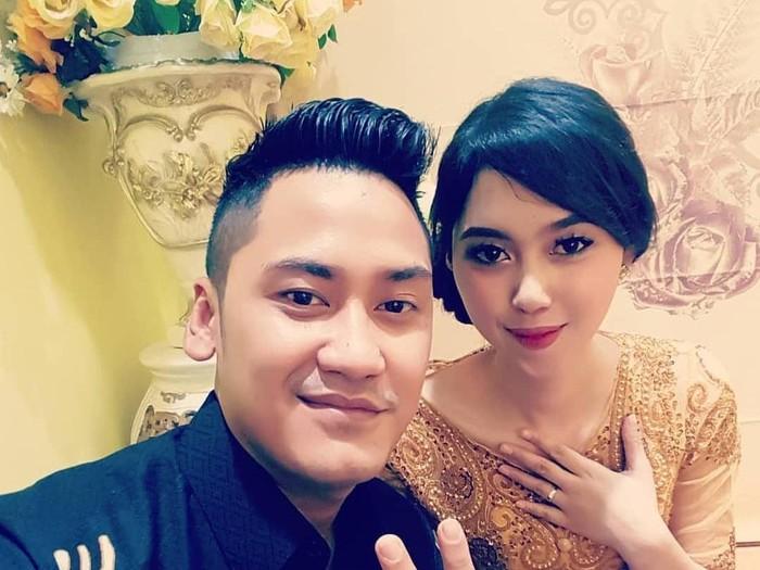 Aldha Refa, istri dari Okky Bisma yang seorang pramugara Sriwijaya Air SJ182