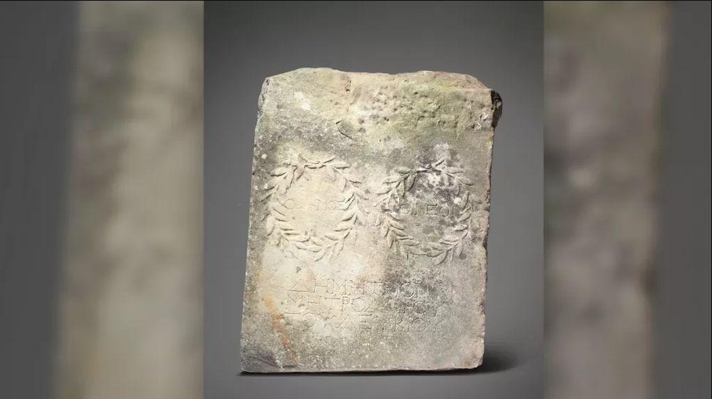 Diinjak-injak jadi Batu Pijakan di Taman, Tahunya Artefak Romawi!