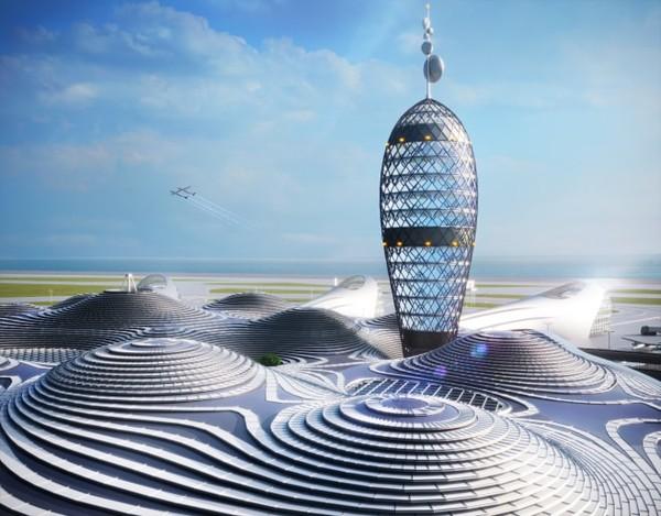 Noiz Architects ada di belakangnya. Firma ini yang merancang konsep Spaceport City tersebut bekerja sama dengan perusahaan komunikasi Dentsu, desainer Canaria, dan nirlaba Spaceport Jepang.