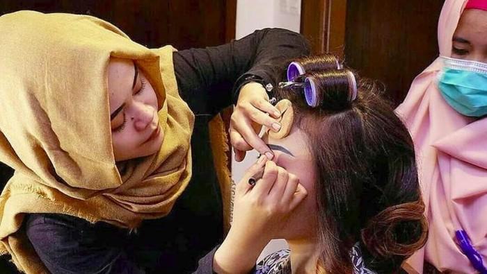 Perias pengantin Chef Aiko, Syifa Kamila jadi korban Sriwijaya Air SJ182