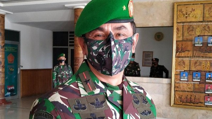 Dandrem 173 PVB Brigjen TNI Iwan Setiawan (Foto: Antara)