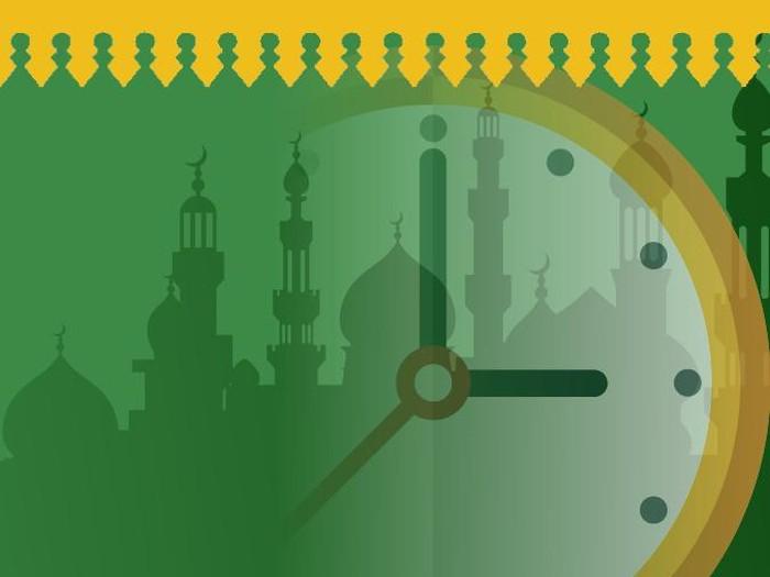 Jadwal waktu sholat untuk DKI Jakarta Januari 2021