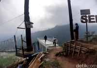Obyek wisata alam Gumuk Reco, Kabupaten Semarang punya wahana baru, Jembatan Kaca.