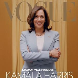 Pakai Jas Michael Kors, Ini Gaya Kamala Harris di Vogue yang Kontroversial
