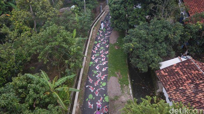 Kampung Lukis Kebon Jeruk Cianjur