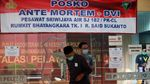 Tim DVI Terima 53 Sampel DNA Keluarga Korban Sriwijaya Air