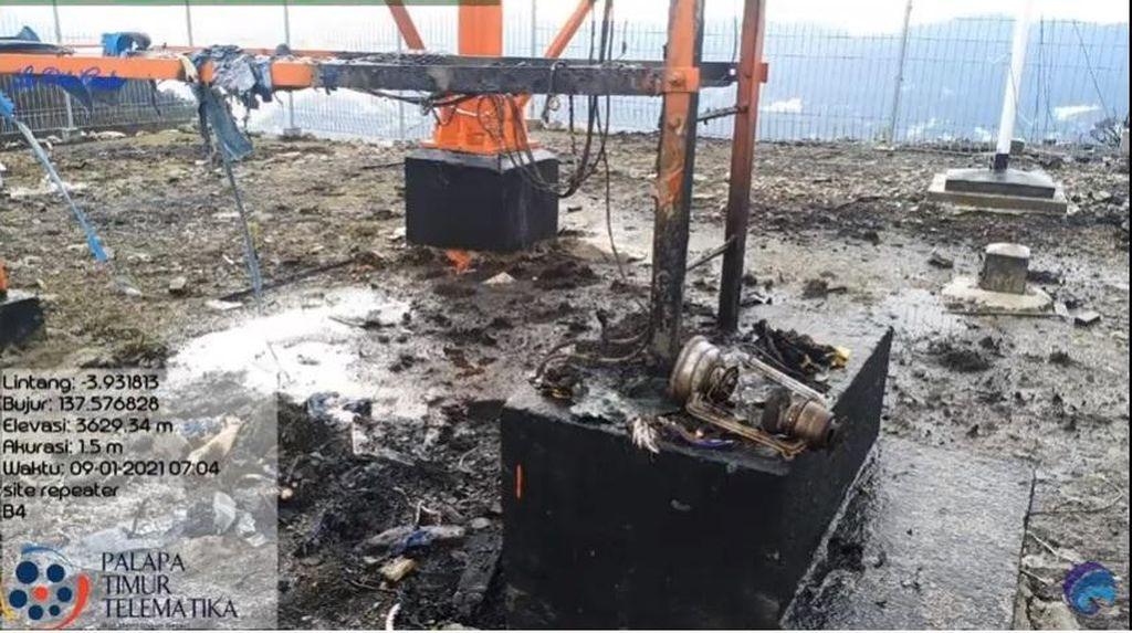 Kominfo Usut Pelaku Pembakar Palapa Ring Timur