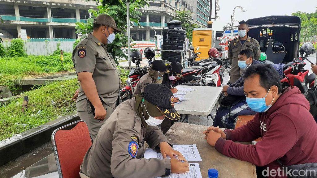 Sepekan, 460 Pelanggar Protokol Kesehatan di Surabaya Didenda