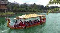 Lokasi Taman Wisata Matahari berada di Jalan Raya Puncak KM 77 Cilember, Cisarua, Bogor. Traveler yang bawa kendaraan roda empat bisa menempuh jalur melalui tol Jagorawi dan keluar di gerbang tol Gadog. (dok. Taman Wisata Matahari)