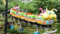 Wahana permainan lainnya yang tak kalah seru di antaranya ada roller coaster mini, trampolin park, fantasy land, hingga dino park. (dok. Taman Wisata Matahari)