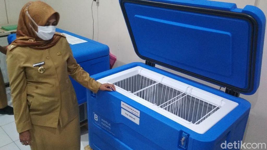 Dinkes Cirebon Siapkan 75 Faskes-Gudang Farmasi untuk Simpan Vaksin Corona