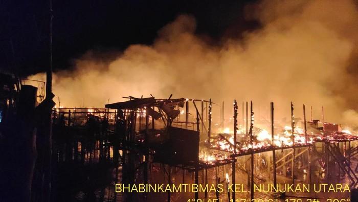 64 rumah di Kaltara terbakar akibat amuk Andi Sudarmin (dok Istimewa)