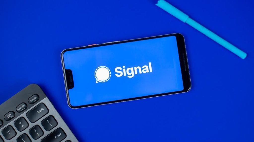 Signal Uji Coba Sederet Fitur Mirip WhatsApp