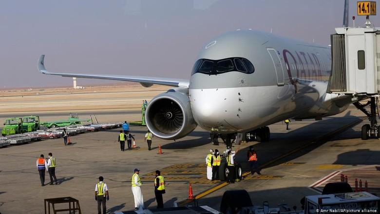 Arab Saudi Akhiri Boikot, Qatar Airways Melandas Lagi di Riyadh