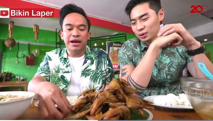 Bikin Laper! Sop Paha Ayam dan Burung Dara Goreng Bikin Lidah Bergejolak