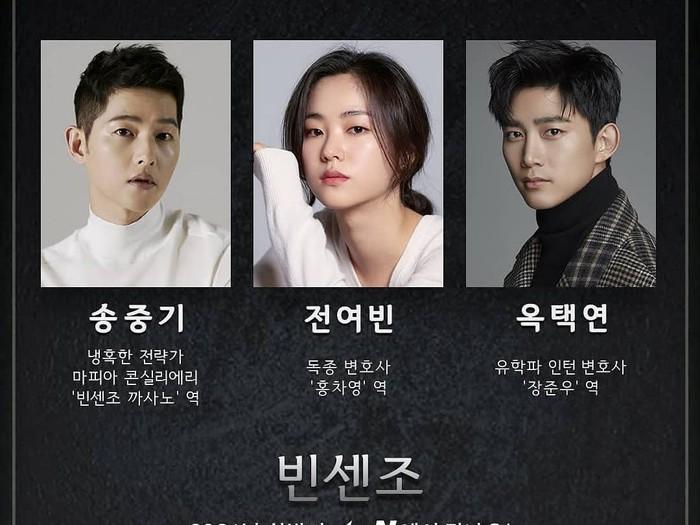 Vincenzo, drama Korea tayang 2021. Foto: dok. tvN