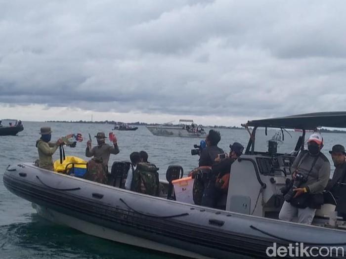 Evakuasi Sriwijaya Air SJ182