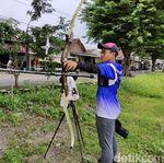 Atlet Panahan Jatim Ini Tetap Giat Latihan Saat Pandemi COVID-19